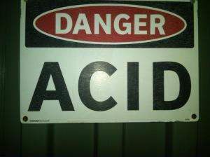 Cancer is Acid