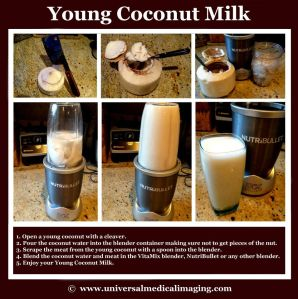 The Health Benefits of Drinking Young Coconut Milk!
