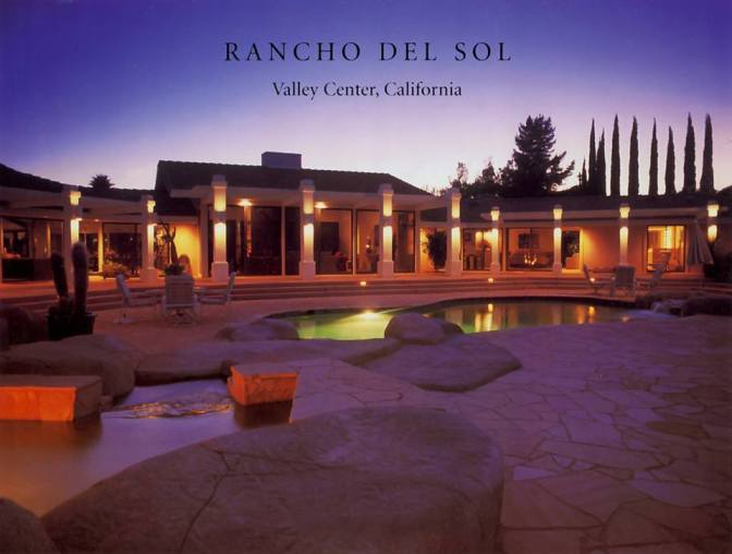 Your Invitation To Experience a Visit to The Rancho del Sol